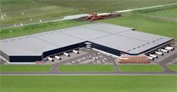 E-commerce center van 62.500 m2 voor XPO in Tilburg