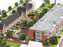 Begin bouw woningproject Bergerveste Alkmaar