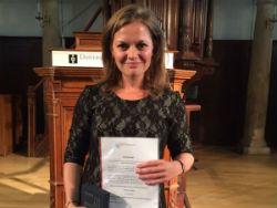 ASRE-scriptieprijs naar Andrea van Buren