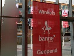 Winkels Banne Centrum open voor publiek