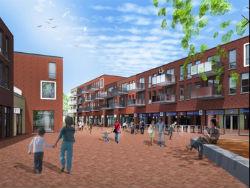 Begin bouw winkelcentrum Schuytgraaf in Arnhem