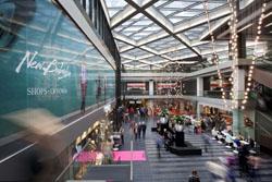 Feestelijke opening winkelcentrum New Babylon