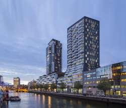 Nieuwe woontoren aan Rotterdamse Wijnhaven
