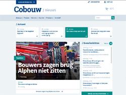 Vernieuwd Cobouw.nl toegankelijker