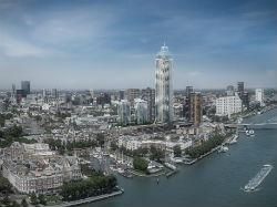 Groen licht voor 'iconische' wolkenkrabber Rotterdam