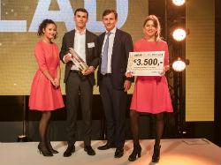Valad wint Gouden Baksteen 2016