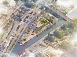 Plan voor 165 woningen en commerciële ruimte Diemen