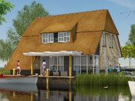 Start bouw 50 watervilla's Friese Meren