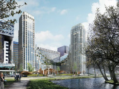 Synchroon/Amvest wint tender woningproject Den Haag Centraal
