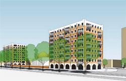 Ontwikkeling appartementen De Lotusbloemen Den Haag