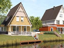 Begin bouw Park Waterrijk in Hekelingen