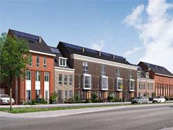 Transformatie van kantoor naar woningen in Hoofddorp