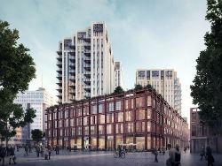 Nieuw gebouw stationsgebied Leiden tot 70 meter hoog
