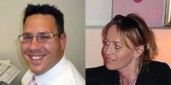 Astrid Kempers en Mark Debets in directie Renpart