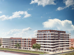 Bouw New Norfolk in Scheveningen van start