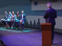 Video-impressie eerste debatronde Young Talents