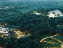Mogelijk biodome, hotels en woningen bij paleis Soestdijk