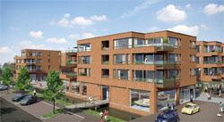 Begin bouw winkelcentrum Miereakker Reeuwijk