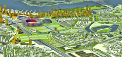 Nieuw stadion Rotterdam kost 313 miljoen euro
