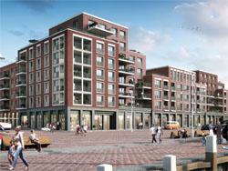 Begin bouw woningen De Reder Scheveningen-Haven