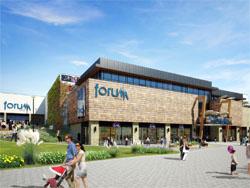 Multi opent winkelcentrum in Slowakije