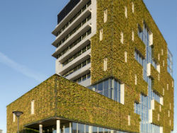 Opening stadskantoor Venlo met groenste gevel ter wereld