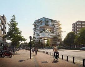 KCAP presenteert ontwerp voor woongebouw The Spot in Amersfoort