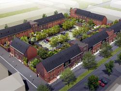 Bouw eerste woningen in Hoge Weide