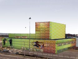 Begin bouw Zuiderstrandtheater Scheveningen