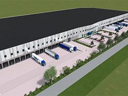 DSV ontwikkelt dc van 41.000 m2 in 's-Heerenberg