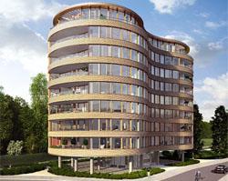 Begin bouw appartementencomplex De Bouwmeester