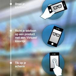Wereldhave maakt haar winkelcentra online en mobiel