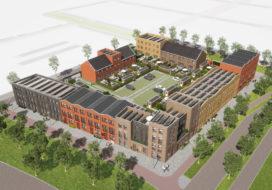 Hurks realiseert 34 woningen Hoge Weide Utrecht