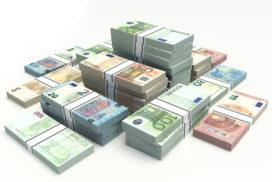 Bankbiljettenpers geeft beleggers vleugels