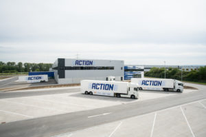 Eerste distributiecentrum Action in Duitsland