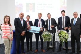 Frank Verwoerd wint Young Talent Award 2017