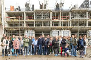 Bouwstart laatste fase Zijdebalen Utrecht