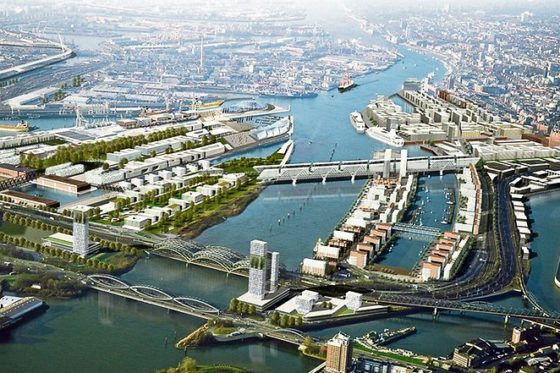 Hamburg presenteert nieuw megaproject in havengebied