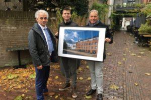 Maas-Jacobs neemt StiB Award in ontvangst