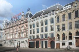 Bouw appartementencomplex Maaskade Rotterdam