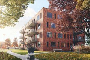 Nieuwbouwappartementen Haren naar particuliere belegger