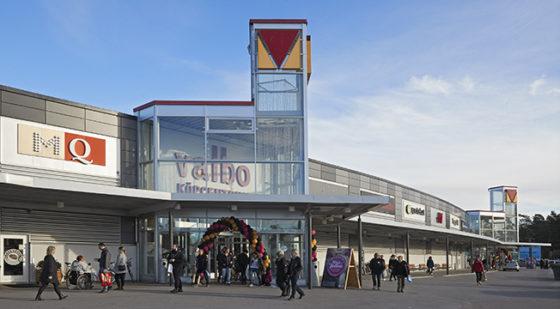 ECP koopt winkelcentrum Valbo in Zweden