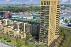 Eerste paal project Toren Hoorn