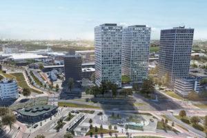 Lee Towers eerste woningproject Merwe-Vierhavensgebied